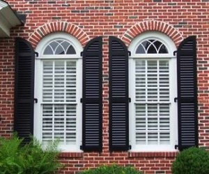 custom exterior shutters can be decorative as well as functional - Decorative Shutters