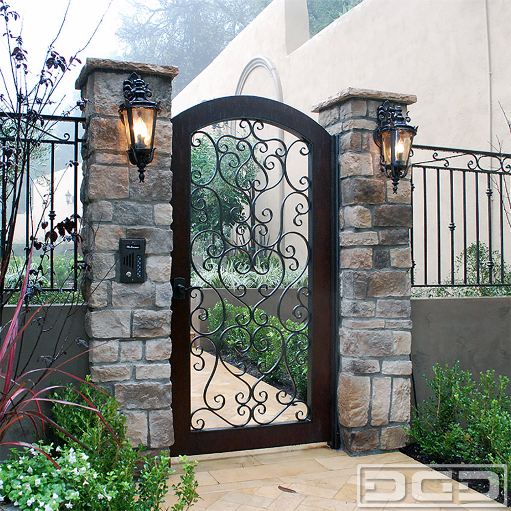Architectural gates 03 custom designer pedestrian gate for House gate design architecture