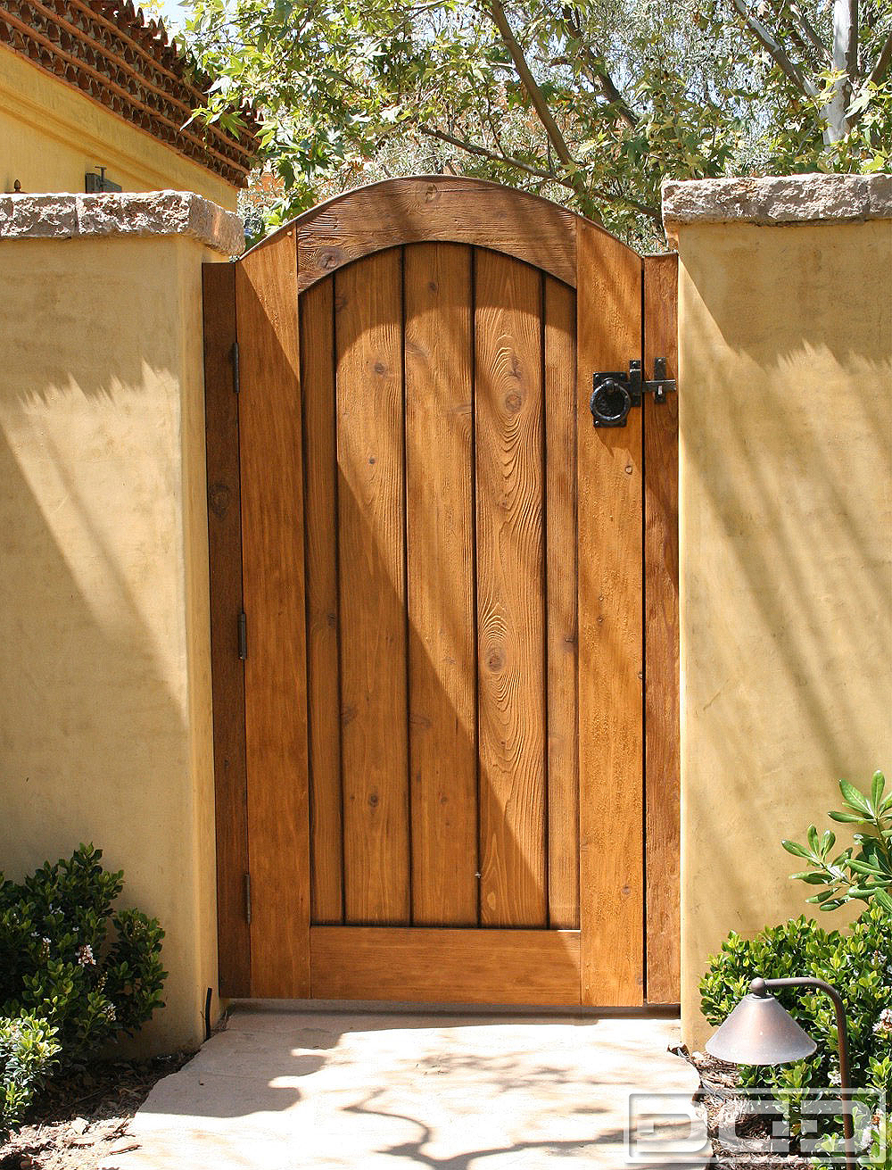 Architectural gates 14 custom designer pedestrian gate for Garden gate designs wood rustic