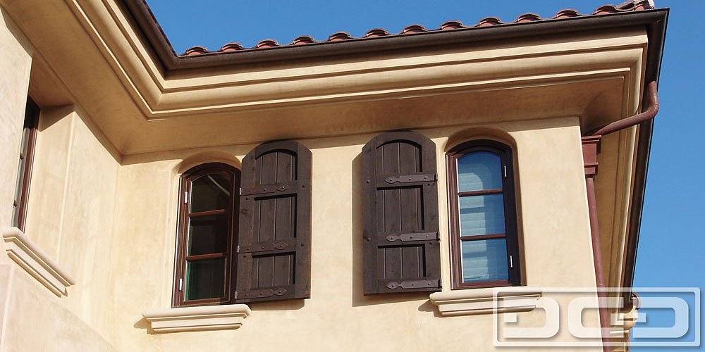 Architectural Shutters 05 | Decorative Exterior Shutters - Dynamic ...