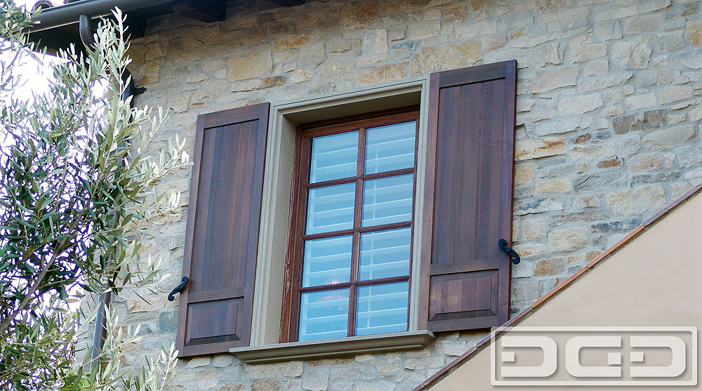 Architectural Shutters 07 | Decorative Exterior Shutters - Dynamic ...
