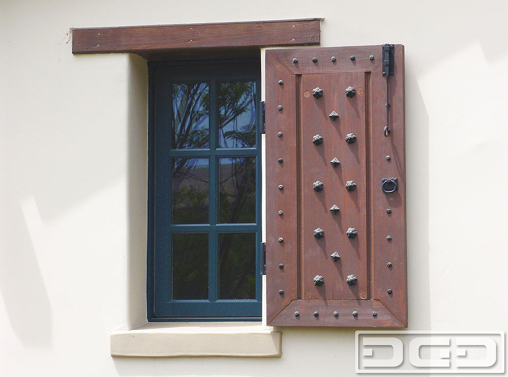 Architectural shutters 12 decorative exterior shutters for Spanish style window shutters