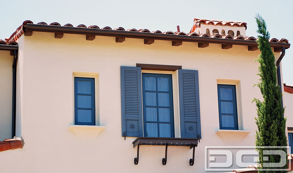 Architectural Shutters 18 | Decorative Exterior Shutters - Dynamic ...