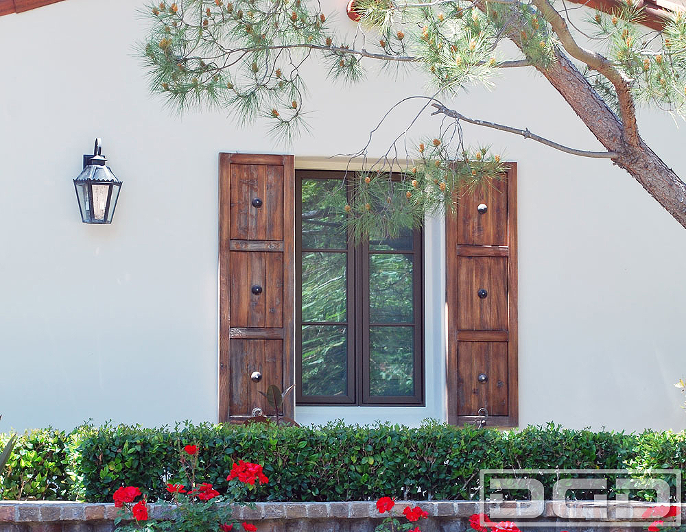 Architectural shutters 19 decorative exterior shutters for Spanish style window shutters