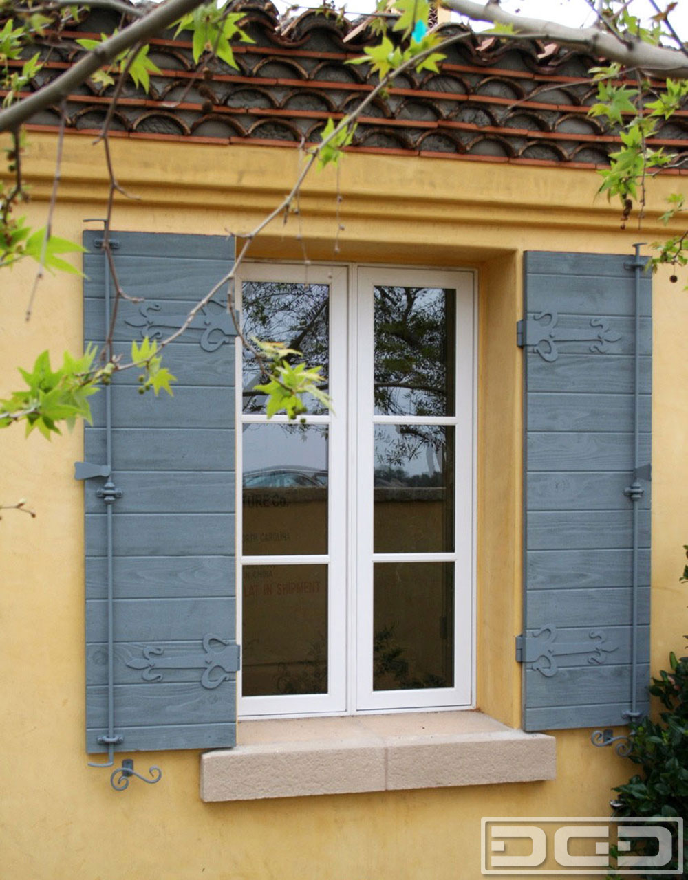 Architectural shutters 22 decorative exterior shutters for Spanish style window shutters