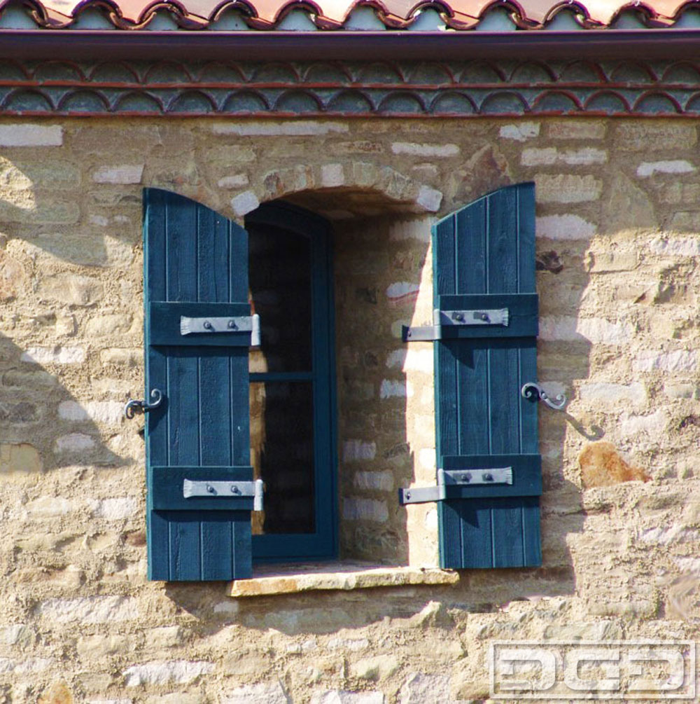 Architectural shutters 24 decorative exterior shutters for Spanish style window shutters