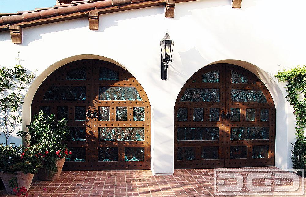 California dream 08 custom architectural garage door for Architectural garage doors