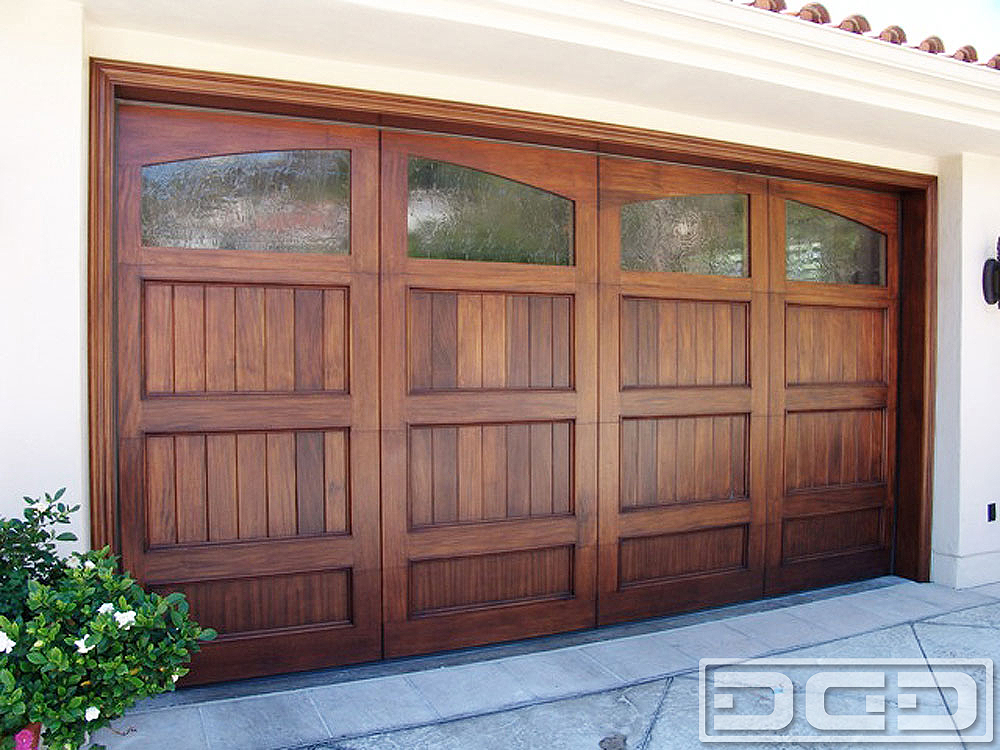 California Dream 13 Custom Architectural Garage Door