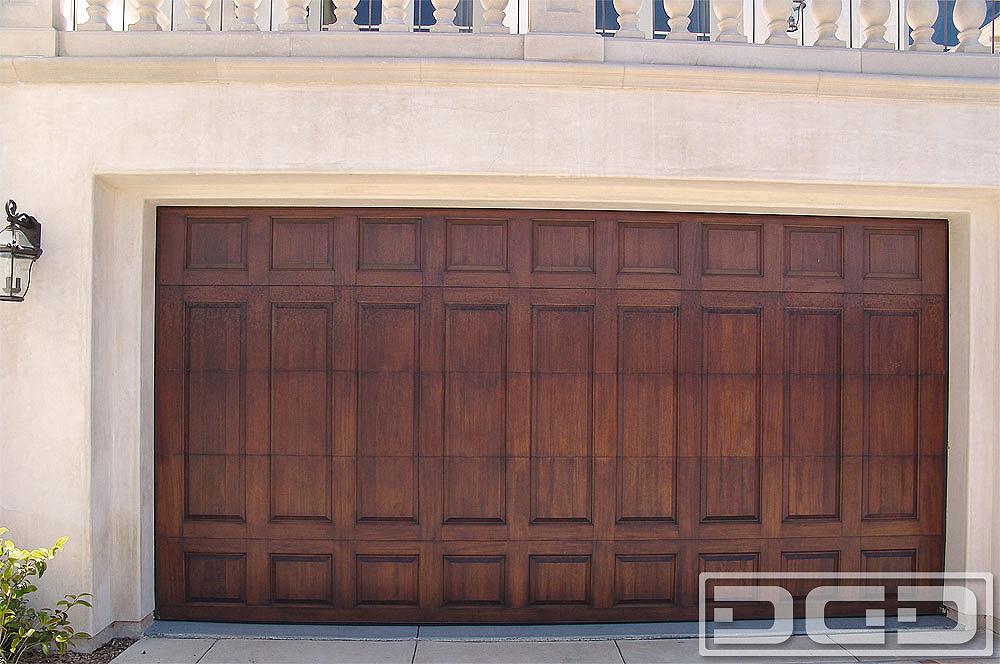 California Dream 18 Custom Architectural Garage Door