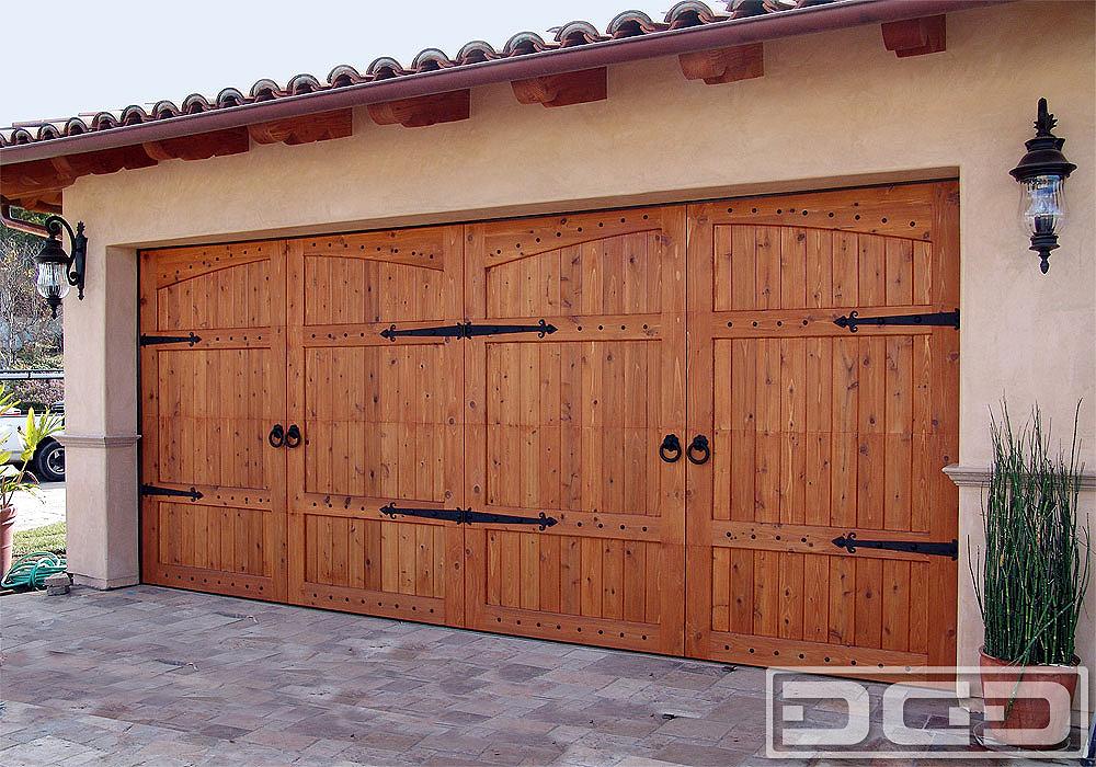 California Dream 22 Custom Architectural Garage Door