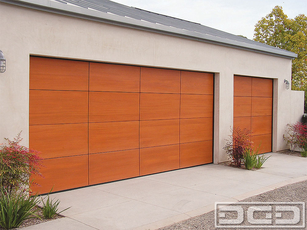 Contemporary 02 | Custom Architectural Garage Door