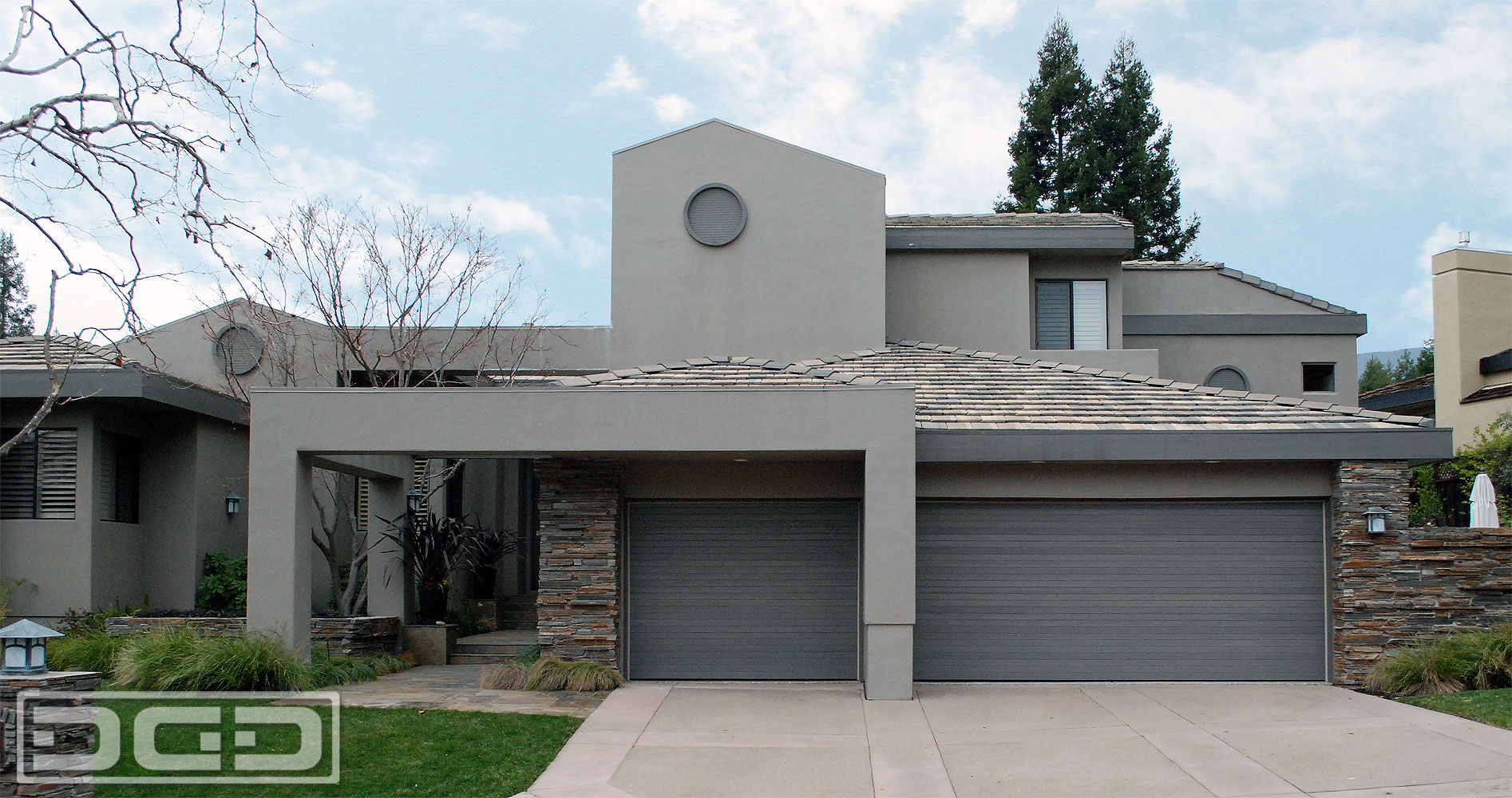 Exceptional Contemporary 03 | Custom Architectural Garage Door