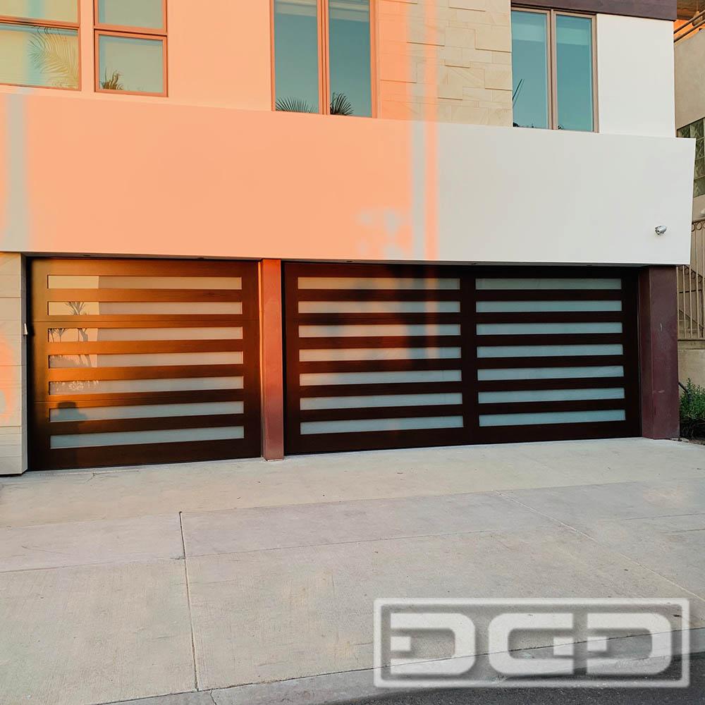 Contemporary 05 | Custom Architectural Garage Door