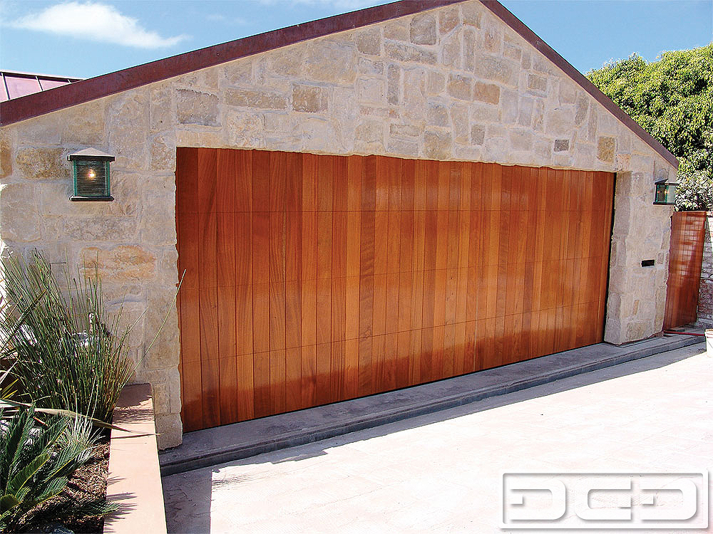 Contemporary 07 Custom Architectural Garage Door