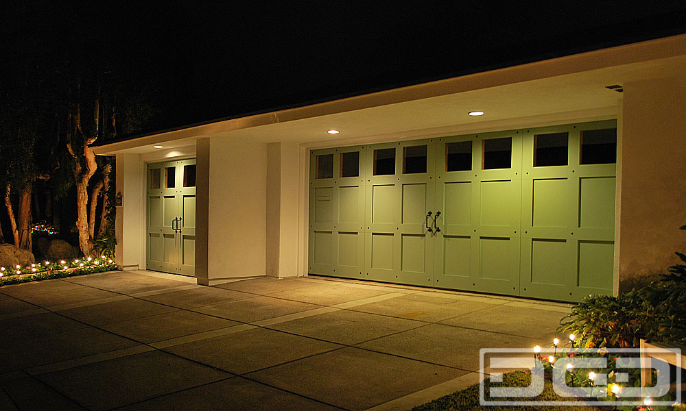Eco Alternative 11 Custom Architectural Garage Door
