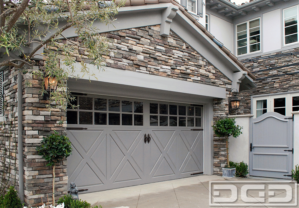 French Campestral 01 | Custom Architectural Garage Door