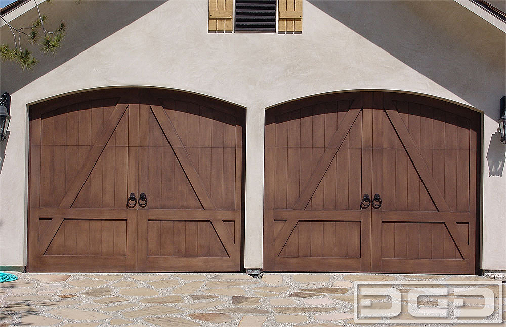 French Campestral 09 Custom Architectural Garage Door