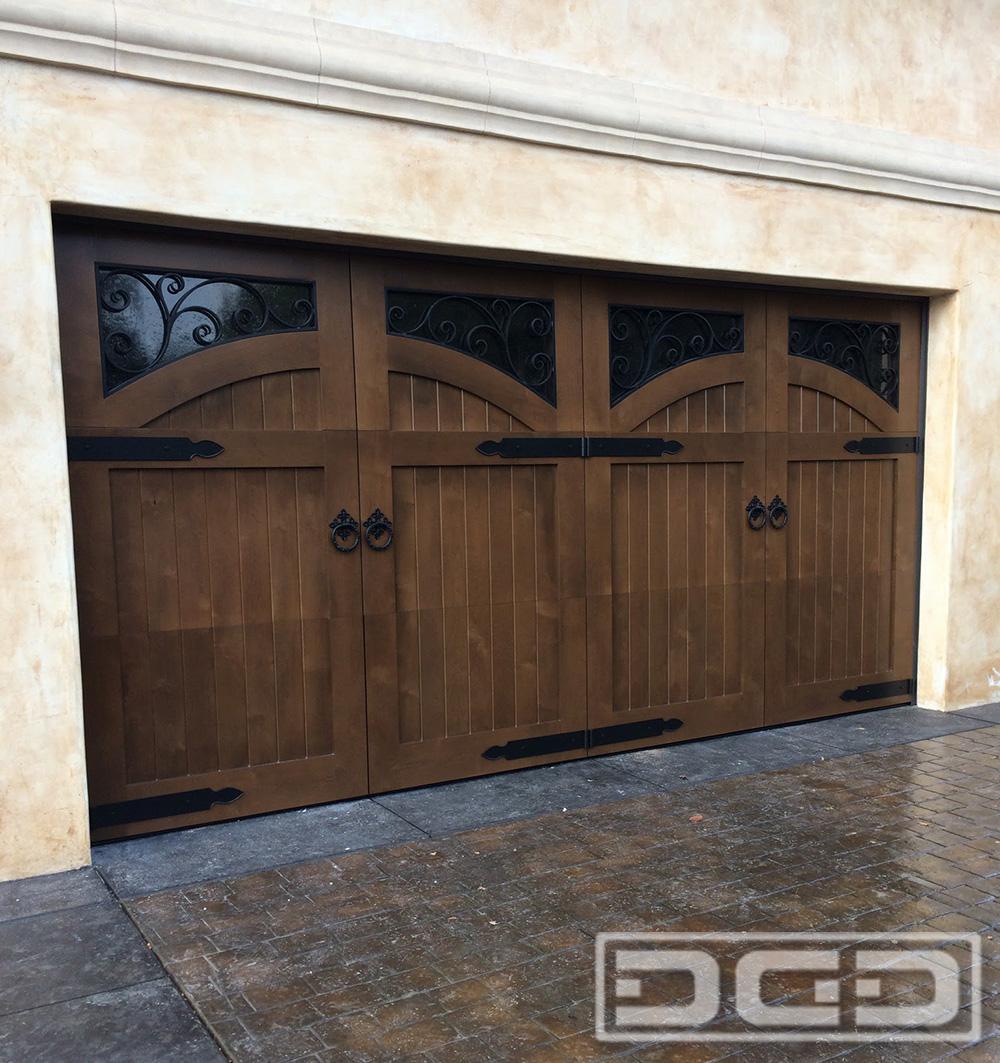 French Campestral 11   Custom Architectural Garage Door