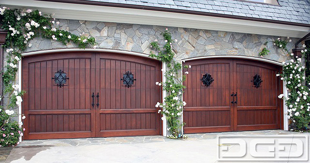 Mediterranean Revival 01 Custom Architectural Garage