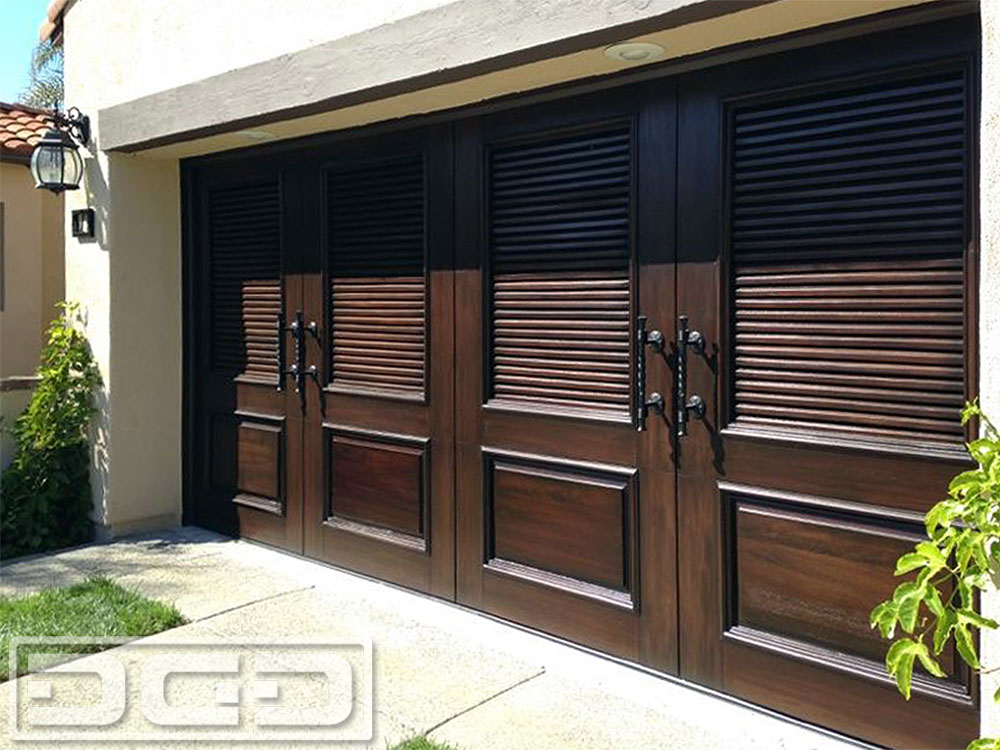 Mediterranean Revival 03 | Custom Architectural Garage Door - Mediterranean Revival 03 Custom Architectural Garage Door