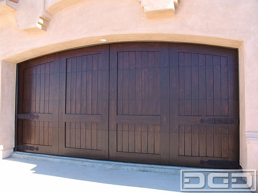Mediterranean revival 06 custom architectural garage for Mediterranean style entry doors