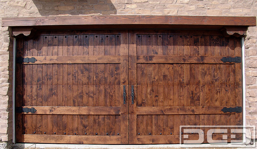 dynamic garage doorsMediterranean Revival 07  Custom Architectural Garage Door