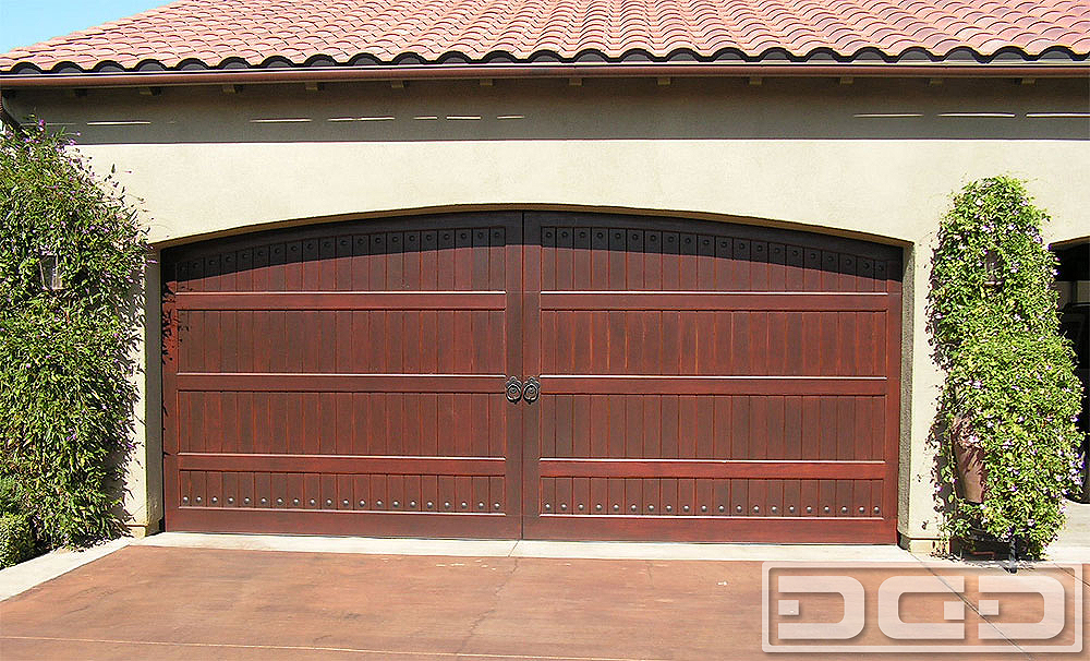 Mediterranean Revival 08 | Custom Architectural Garage Door