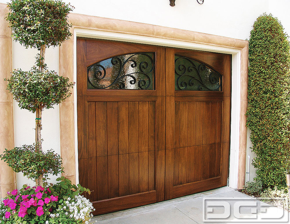 Mediterranean Revival 09 | Custom Architectural Garage Door