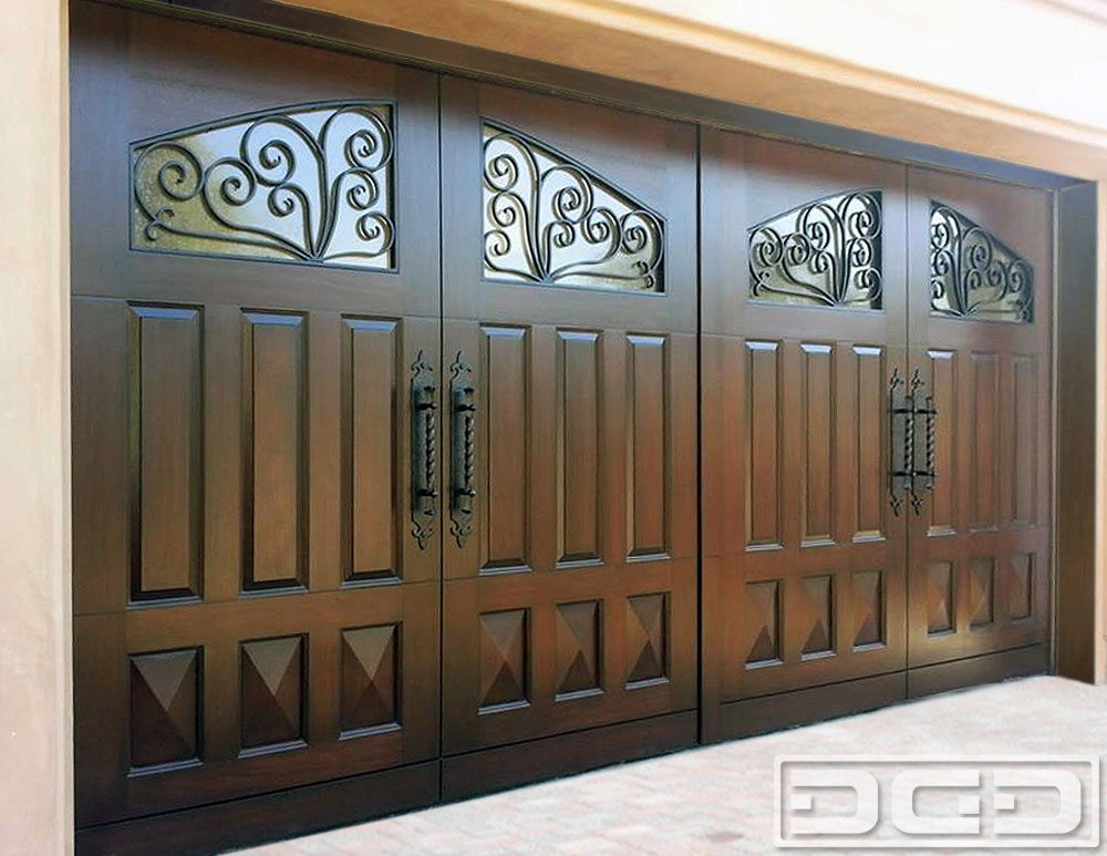 Mediterranean Revival 10 Custom Architectural Garage