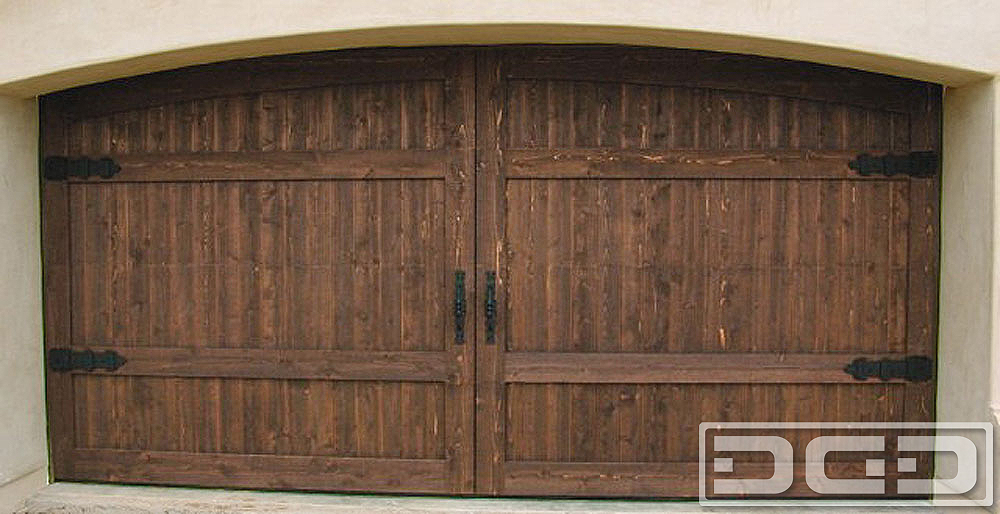 Mediterranean Revival 11 | Custom Architectural Garage Door