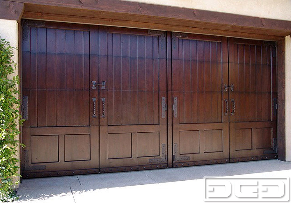 Mediterranean Revival 12 | Custom Architectural Garage Door