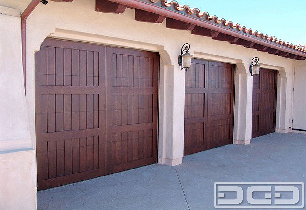 Mediterranean Revival 13 | Custom Architectural Garage Door