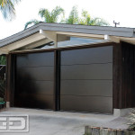MidCentury Modern Garage Door Design Ideas