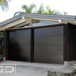 MidCentury Modern Garage Door Design Ideas