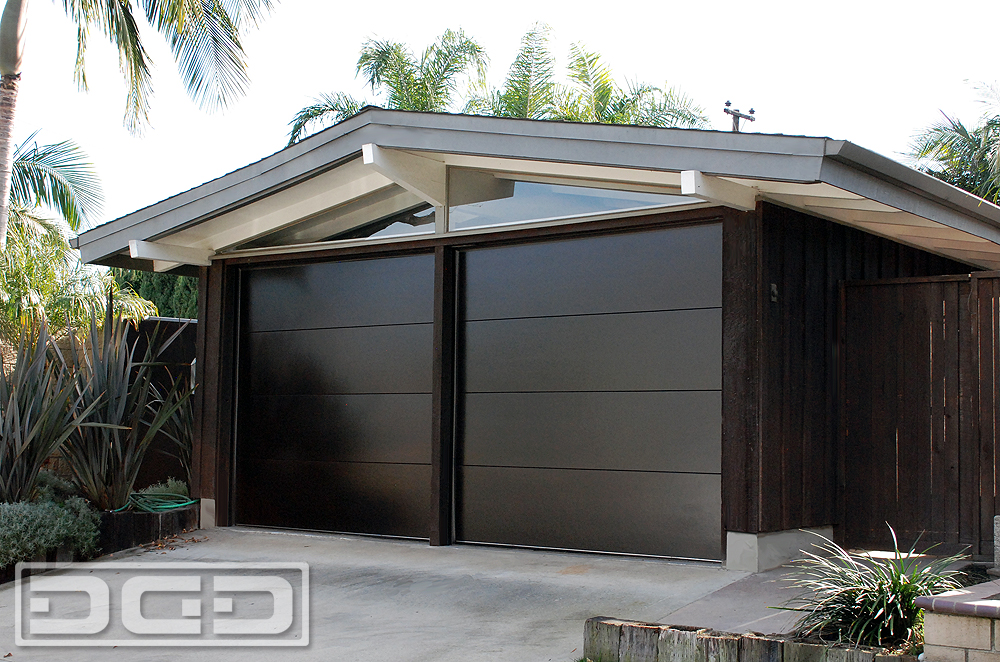Mid century 01 custom architectural garage door for Garage doors styles