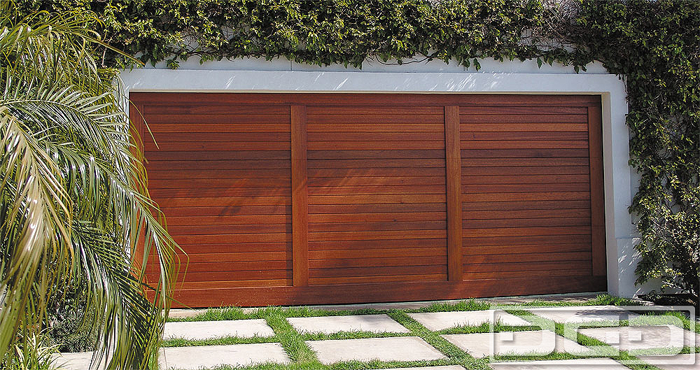 Mid Century 02 | Custom Architectural Garage Door