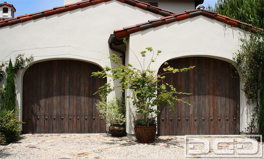Spanish Colonial 01 Custom Architectural Garage Door