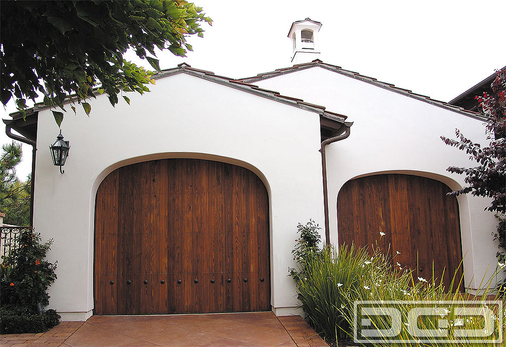 Spanish Colonial 02 Custom Architectural Garage Door
