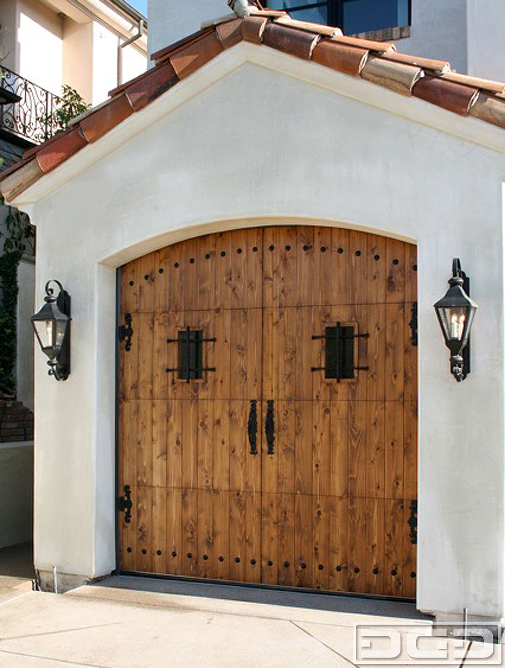 Spanish Colonial 03 Custom Architectural Garage Door