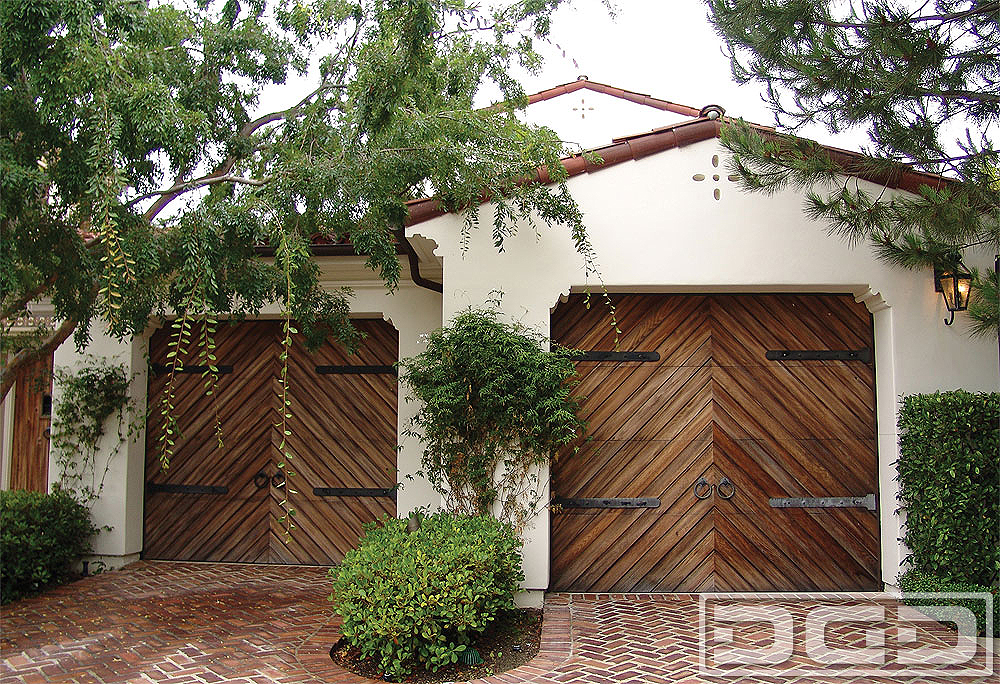 Spanish Colonial 04 | Custom Architectural Garage Door