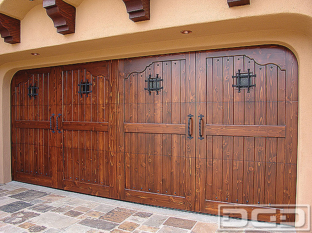 Spanish Colonial 08 Custom Architectural Garage Door