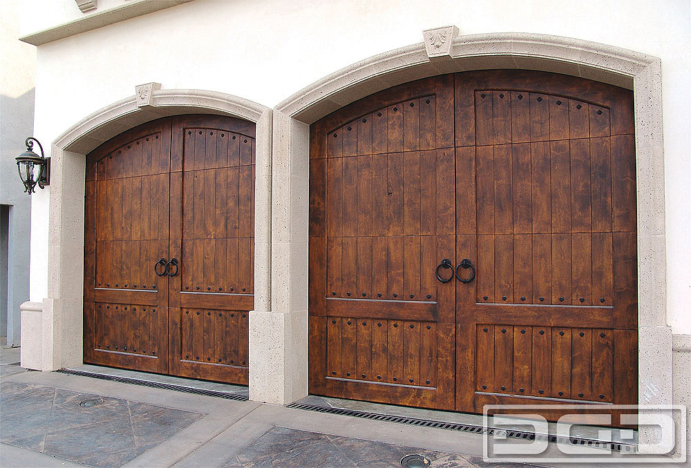 Spanish Colonial 09 Custom Architectural Garage Door