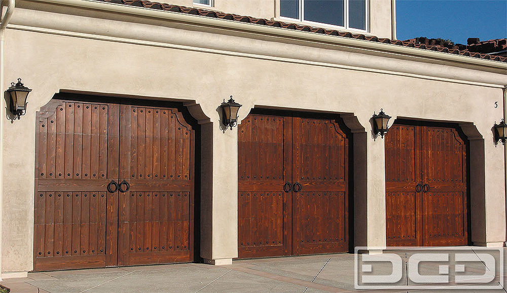 Spanish Colonial 10 Custom Architectural Garage Door