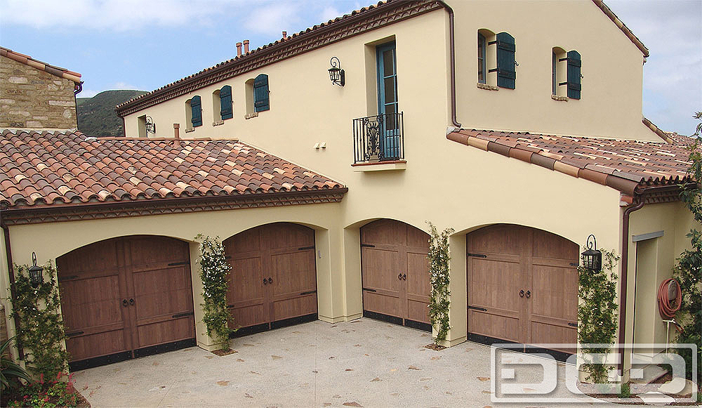 Spanish Colonial 11 Custom Architectural Garage Door
