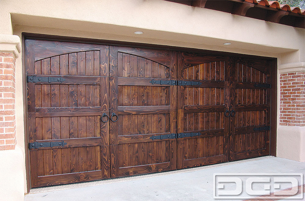 Spanish Colonial 14 Custom Architectural Garage Door