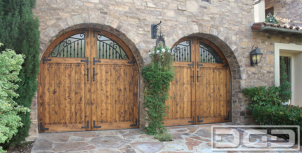 Tuscan Renaissance 03 | Custom Architectural Garage Door