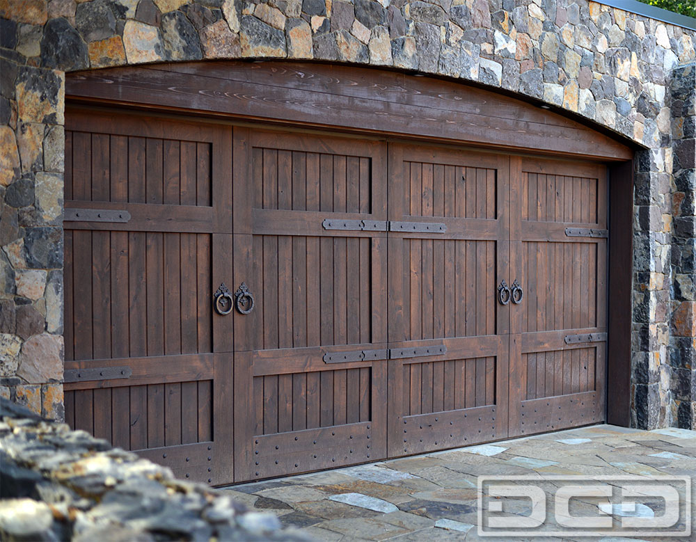 Tuscan renaissance 06 custom architectural garage door for Garage doors styles