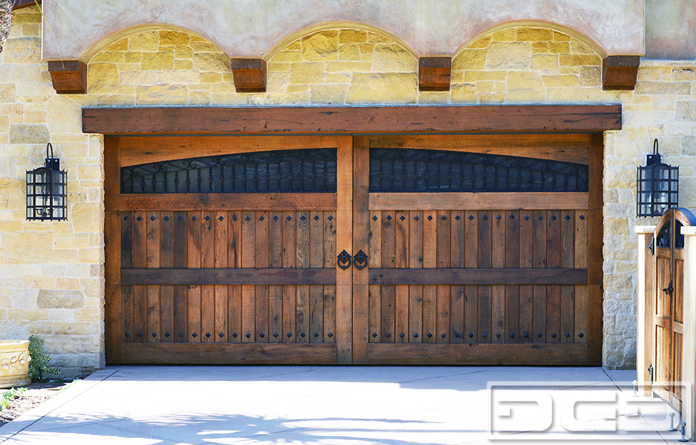 Tuscan Renaissance 14 Custom Architectural Garage Door