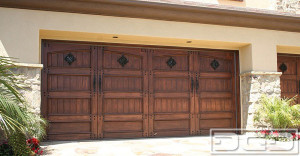 what styles of homes look best with a carriage style garage door