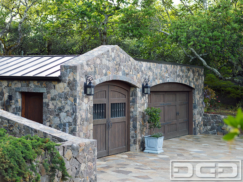 Related Project of Tuscan Renaissance 06 | Custom Architectural Garage Door